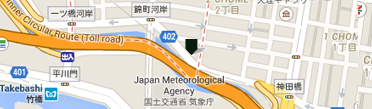 ベリー・ブラザーズ&ラッド日本支店地図