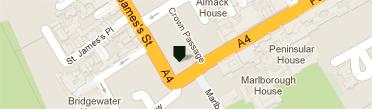 ベリー・ブラザーズ&ラッド ロンドン店地図